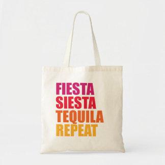 Bolsa Tote Festa, Siesta, férias de Bachelorette do Tequila