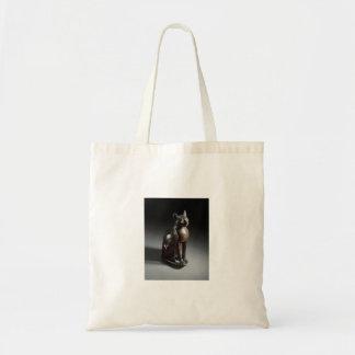 Bolsa Tote Fibra (deusa do gato egípcio)