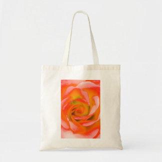 Bolsa Tote Fim-acima cor-de-rosa da laranja