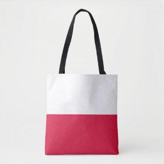 Bolsa Tote Flaga Polski - bandeira polonesa