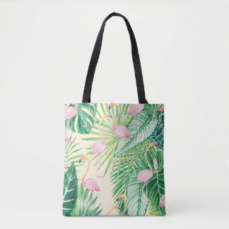 Bolsa Tote Flamingos bonitos do ★