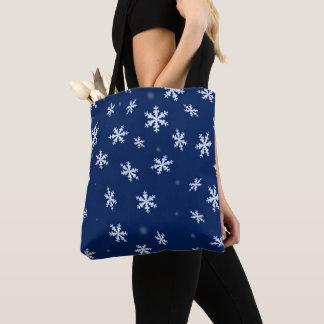 Bolsa Tote Flocos de neve
