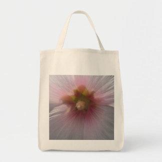 Bolsa Tote Flor cor-de-rosa