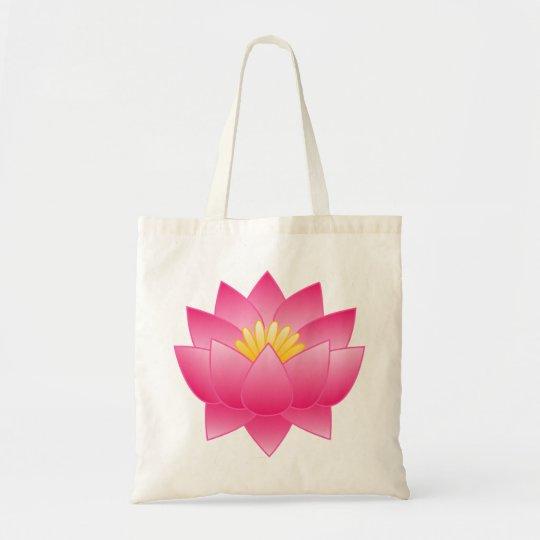 Bolsa Tote flor de lotus