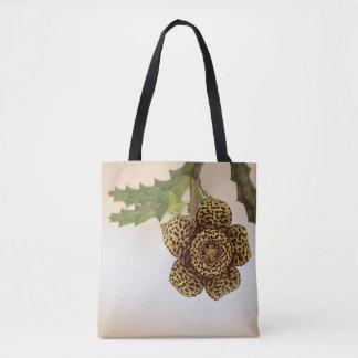 Bolsa Tote flor do leopardo