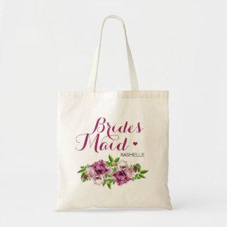 Bolsa Tote Floral cor-de-rosa