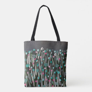 Bolsa Tote Flores corajosas