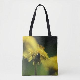 Bolsa Tote Flores do dente-de-leão