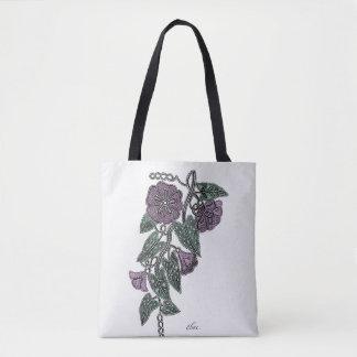 Bolsa Tote Flores do laço