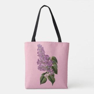 Bolsa Tote Flores do Lilac