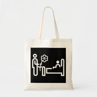 Bolsa Tote Flores para uma sacola paciente