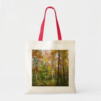 Bolsa Tote Floresta da queda mim fotografia da paisagem do