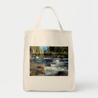 Bolsa Tote Fluxo com a sacola do universo