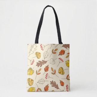 Bolsa Tote Folhas coloridas do outono