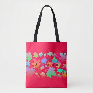 Bolsa Tote Folhas de outono coloridas