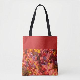 Bolsa Tote Folhas de outono vermelhas