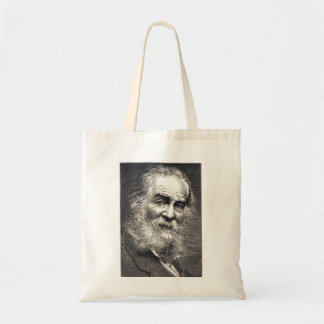 Bolsa Tote Folhas de Walt Whitman da gravura da grama