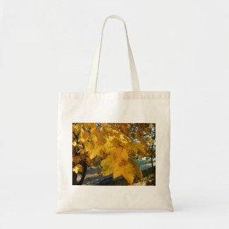 Bolsa Tote Folhas do amarelo