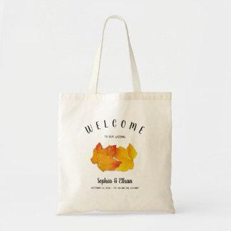 Bolsa Tote Folhas feitas sob encomenda do saco dois da boa