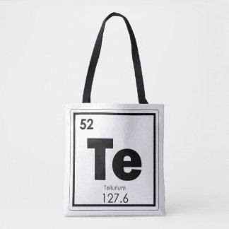 Bolsa Tote Formul da química do símbolo do elemento químico