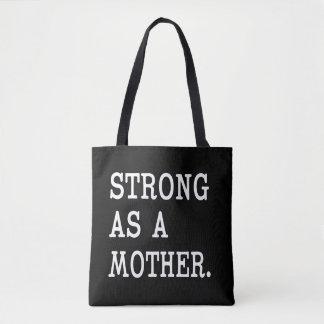 Bolsa Tote Forte como uma sacola da mãe