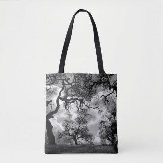 Bolsa Tote Foto da árvore do assombro
