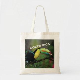 Bolsa Tote Foto de Costa Rica com o pássaro colorido de