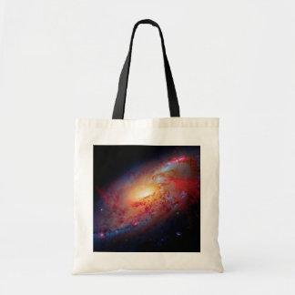 Bolsa Tote Foto mais messier do espaço da galáxia M106