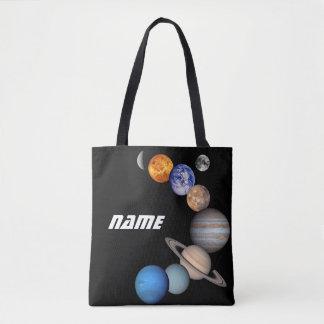Bolsa Tote Fotos do montagem JPL do sistema solar -