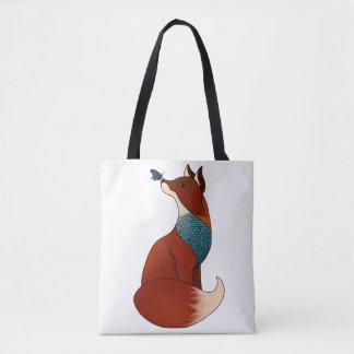 Bolsa Tote Fox geométrico
