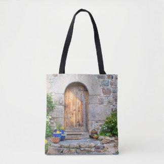 Bolsa Tote Francês rústico Gite na sacola de Brittany France