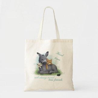 Bolsa Tote Friendship Shiba Donkey Inu &