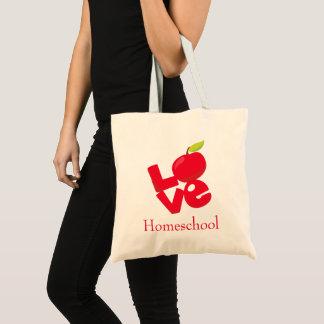 Bolsa Tote Fun Love Homeschool