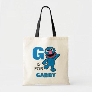 Bolsa Tote G é para Grover que | adicionam seu nome