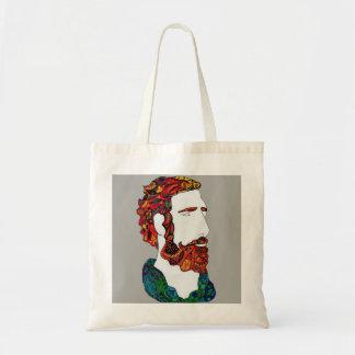 Bolsa Tote gajo Vermelho-de cabelo do hipster