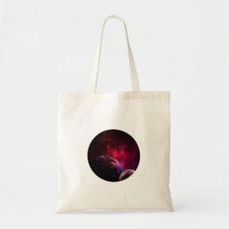 Bolsa Tote Galaxy Purple 1 - Gláxia roxa