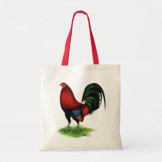 Bolsa Tote Gamecock:  Escuro - vermelho