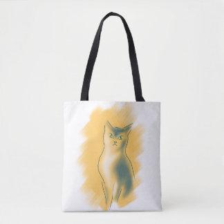 BOLSA TOTE GATINHO DO AMANTE DO CAT