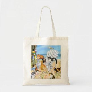 Bolsa Tote Gatinhos do vagabundo da praia