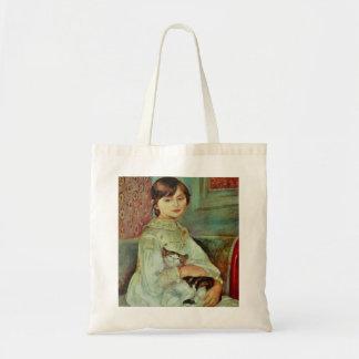 Bolsa Tote Gato adorável por Renoir