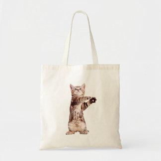 Bolsa Tote Gato ereto - gatinho - animal de estimação -