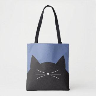 Bolsa Tote Gato preto, suiças e cauda