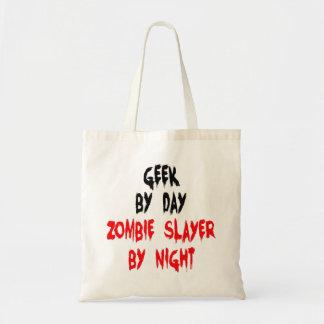 Bolsa Tote Geek do assassino do zombi