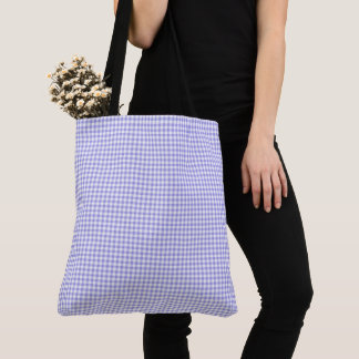 Bolsa Tote Gingham_Blueberry-Check-Totes-Shoulder-Bag's-Multi