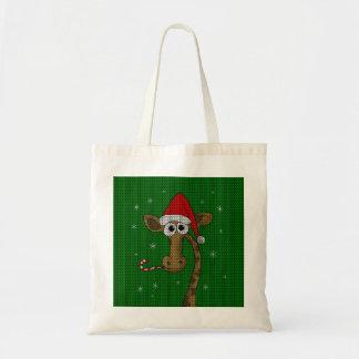 Bolsa Tote Girafa do Natal