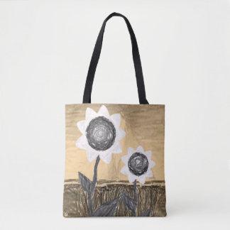 Bolsa Tote girassóis da sacola