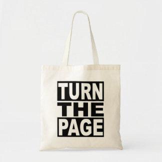 Bolsa Tote Gire a página
