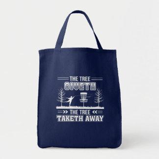Bolsa Tote Golfe ausente do disco de Taketh da árvore de