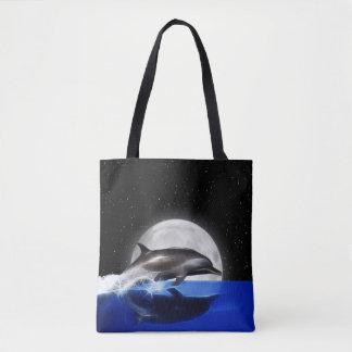 Bolsa Tote Golfinho da lua
