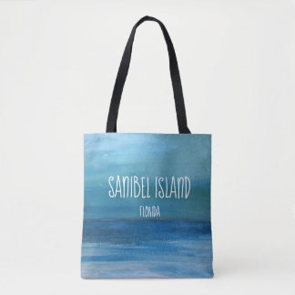 Bolsa Tote Golfo do México - belas artes de Sanibel